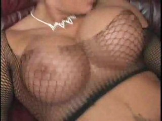 Big tits on blonde bounce during sex