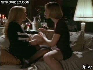 'Bare Sex' Lesbo Sex Scene Featuring Deborah Dutch and Elaine Devry