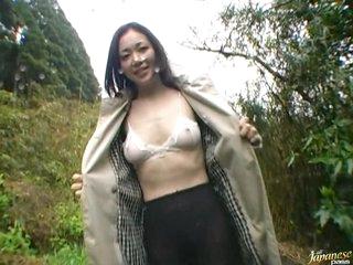 Horny Oriental MILF Yukako Shinohara Gets Fucked Outdoors