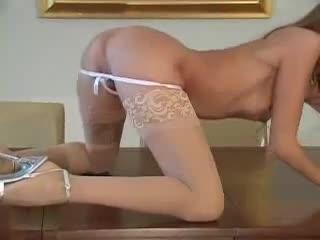 Close up with Jenna Haze masturbating solo