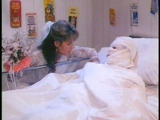Horny Bride and Hot Nurse Receive Screwed in a Hospital - Retro Porn Clip
