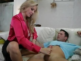 Sexy momma Julia Ann is super sucking precious