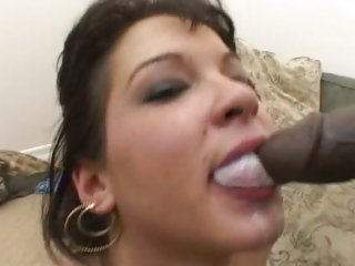 Wicked Shayna Knight gets a mouthful of dick milk
