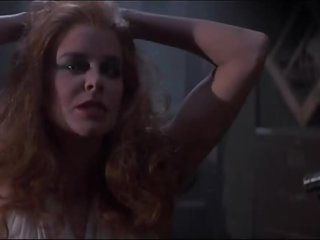 Hawt Redhead Amanda Bearse Turns Into a Vampire and Shows Her Big rack