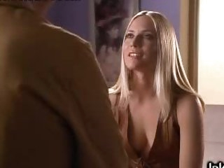 Incredibly Hot Blonde Sweetheart Emily Procter Shows Her Moist Natural Boobs