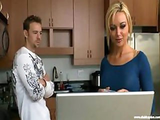 Beautiful Blonde Babe Kayden Kross Gets Screwed and Facialized Big Time