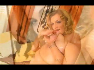 Big titty Golden-haired Masturbating