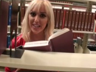 Blondes Do Learn in Libraries!