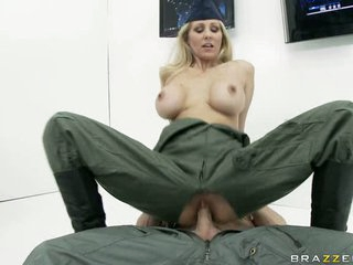 Fucking whore Julia Ann is having the consummate fuck she always wanted and craved