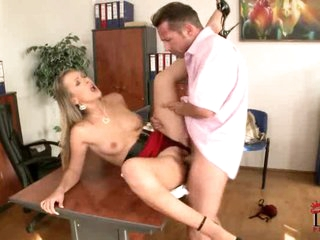 Sexy blonde loves getting her love tunnel crammed with cock
