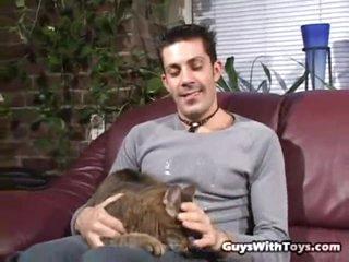 Cat and schlong lover