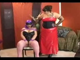 Lesbo BBW Sub Training