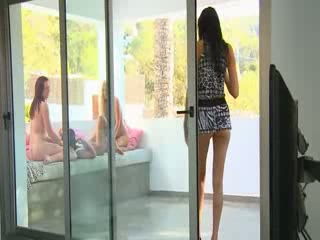 See brunette slovak in shoes peeing