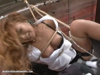 Japanese Bondage Sex - Hardcore BDSM Raunchy Punishment