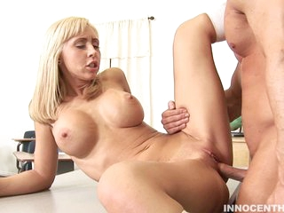 Jessica Lynn gets her fresh shaved vagina pounded savagely out of mercy.