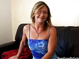 MILF's big cock fantasy cums true