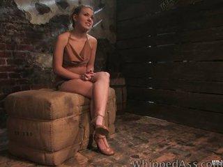 Girl on girl BDSM punishment is hot