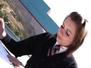 Lexi Belle horny schoolgirl