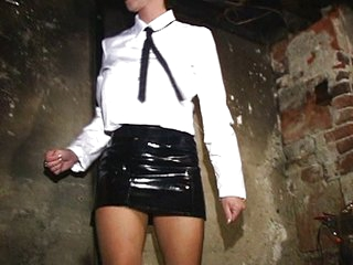 Leah Luv tortured by mistress