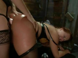 Alluring Katja Kassin gets ass fucked by Bobbi Starr