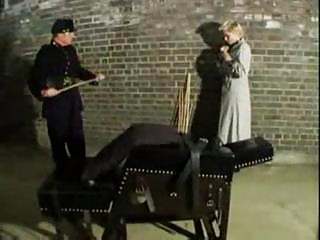 Vintage domination & spanking action