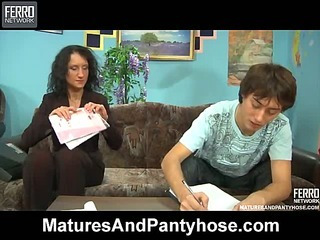 Regina&Jack mature pantyhose movie