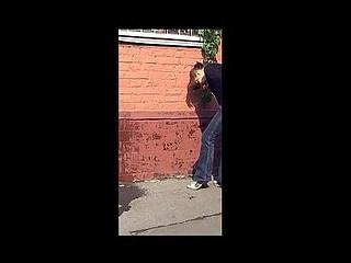 Public pee mishap