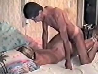 Blonde in stolen homemade BDSM tape