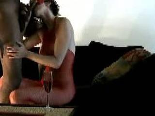 Black Cock Fucks White Tits