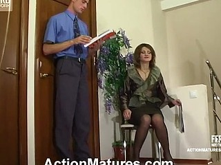 Christie&Gerhard kinky mama on episode