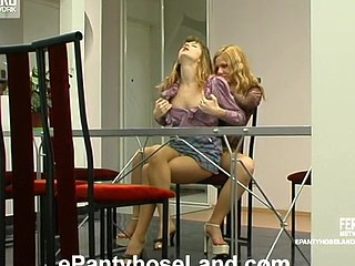 Maria&Etta wicked hose movie scene