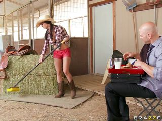 a roll in the hay with the farmer's daughter...