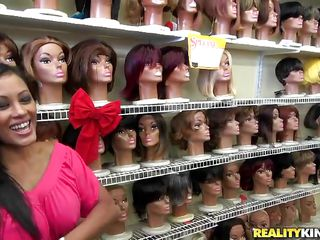 picking-up a milf at the wig shop!