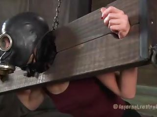 slut cries while being punished