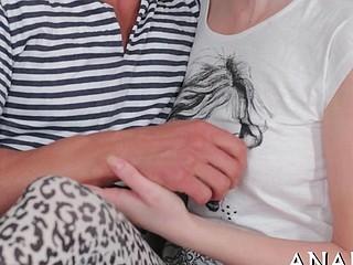 Raunchy butt pleasuring