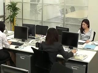 Yuria Sonoda, Neo Kazetani, Kai Miharu, Natsuki Yokoyama in Loveliness OL Lesbian Office part 3