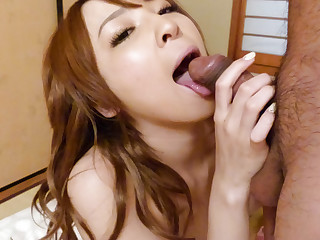 Crazy Japanese whore Hikaru Shiina in Amazing JAV uncensored Creampie movie