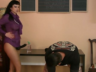 Trinity-Productions: Strapon Teacher