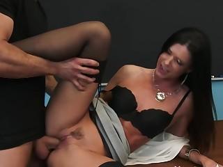 India Summer & Bill Bailey in My First Sex Teacher