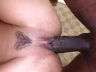 A Latina chick is having a lot of fun. See her pussy getting licked