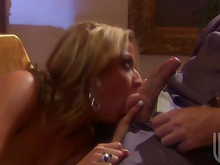 Hot Group Sex Orgy With The Dinner Guests and The Maid