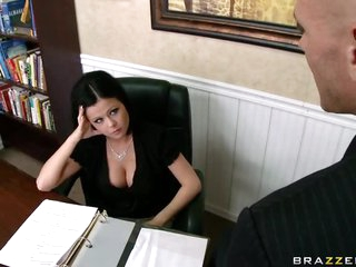 Employee Copulates His Supervisor Loni Evans For The Good Of The Company