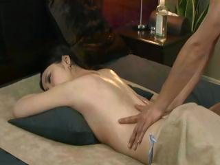 Dark brown gets a deep massage and then he desires to get greater quantity