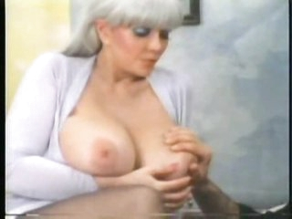 Retro foreplay porn with giant marangos chick